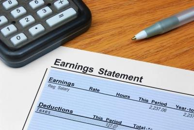 earnings statement and calculator