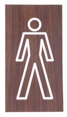 Men's Bathroom sign