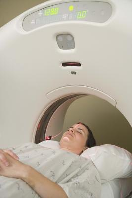 MRI machines detect problems in the body not normally seen on x-ray.