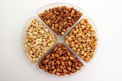 Nuts are a great source of protein.