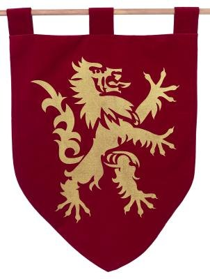 Early coats of arms were fairly simple