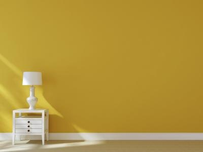 What Matches Yellow Walls With Pictures Ehow