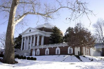 University of Virginia Rotunda in the winter