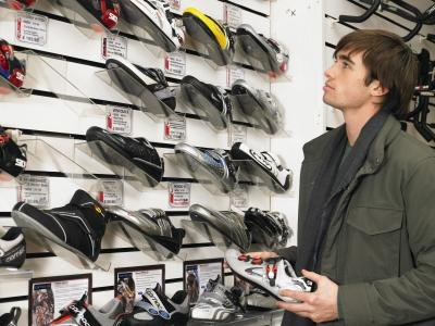 Look for shoes that are well ventilated when purchasing.