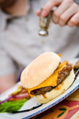 Hamburgers are easy to make and enjoyable to eat.