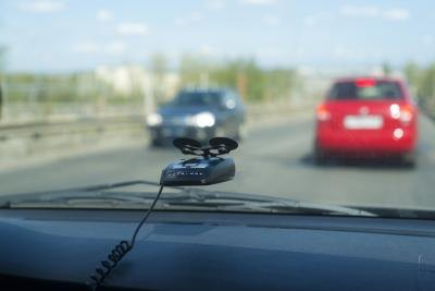 Radar Detector in a car