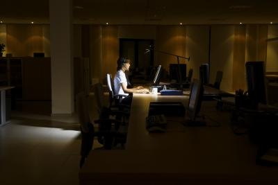 Night shift workers often have low levels of serotonin.