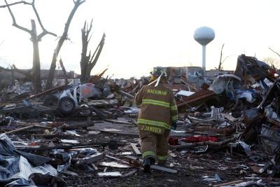 natural disasters like tornadoes can do severe damage