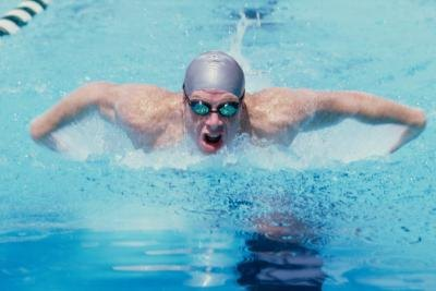 "Swimming may cause ""swimmer's ear""."