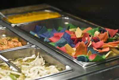Tex-Mex salad bar