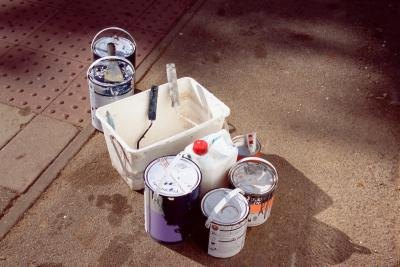 Paint thinners should be disposed of properly to avoid harming the environment.