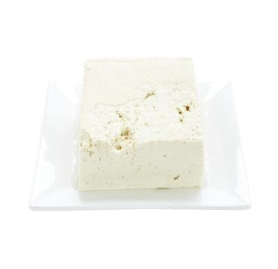 Tofu is high in protein and is made from bean curd.