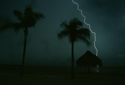 The state of Florida has the most lightning strikes in the U.S.