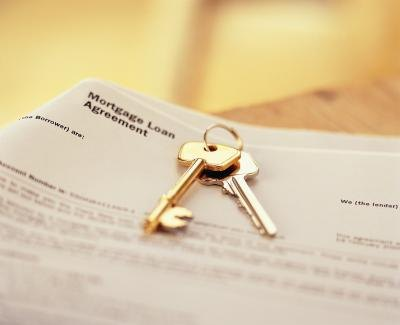 Keys and property agreement.