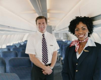 Professionalism and caring go a long way as a flight attendant