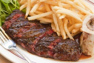 Hanger steak is a good alternative to flank steak.