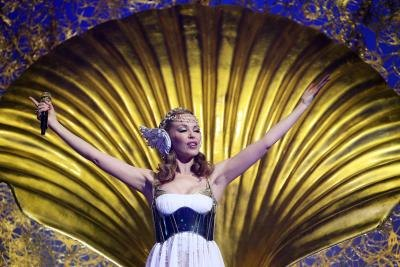 Kylie Minogue as Aphrodite