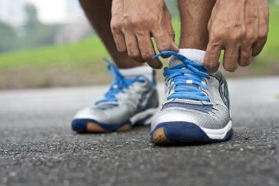 Shoe repair glue can help revive your broken running shoes.