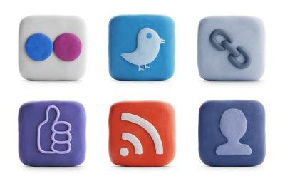 Social networking icons.