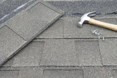 Asphalt shingles are the most commonly chosen roofing material in America.