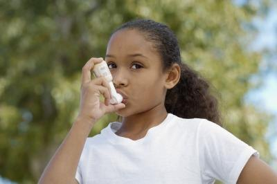 Airways narrow during an asthma attack.