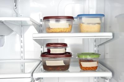 Keep foods stored in containers away from open areas.