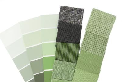 Choose some of these green shades to create a green room that will be ...