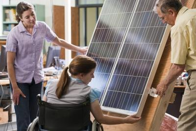 There are only a few basic items you need to construct your own solar panels.