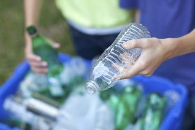 Plastic bottles can be hard to recycle.