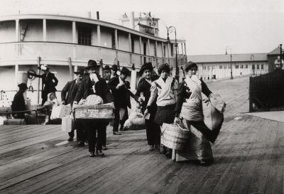 Immigrants during the 19th century performed a wide variety of jobs.