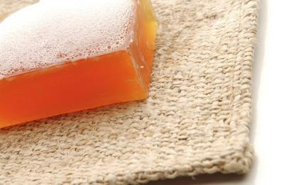 Glycerin is used in soap.