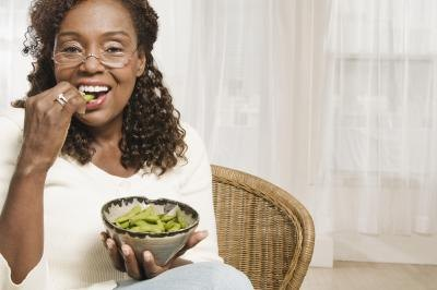 Edamame is a good vegetable option because it also helps increase estrogen levels in the body.