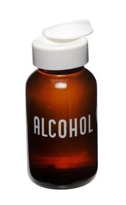 Alcohol bottle