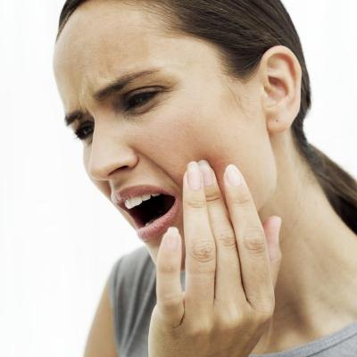 Mouth sores are sometimes present