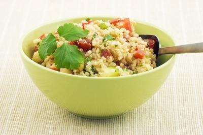 Small bowl of quinoa.