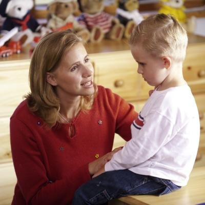 When the time is up, have a brief talk with your child and allow him to apologize for his actions.