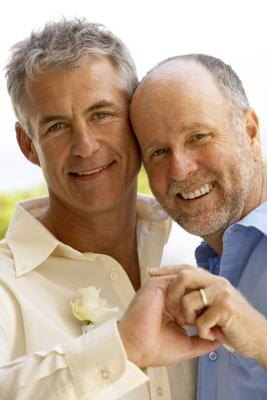 Gay Couples Wear Wedding Rings On Right Hand