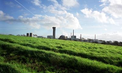 Nuclear reprocessing plant in Cumbria, England