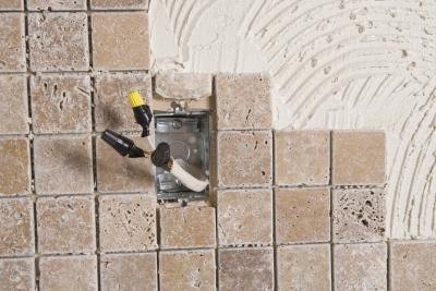 Reseal the grout.