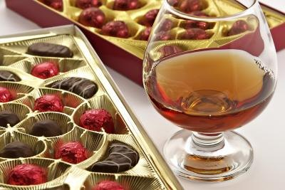 Chocolates and Remy Martin