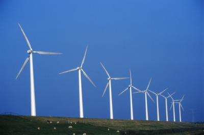 energy from the wind can be used to reduce our carbon footprint