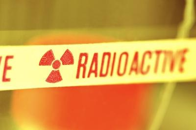 radioactive environment sign