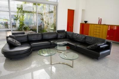 decorate around your leather furniture to create a balanced living room balanced living room