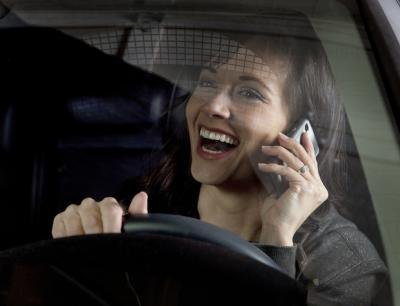 Driving while on the phone presents many dangers.