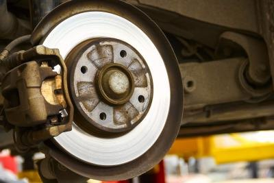 Typically, you will replace your front brakes before your rear brakes.
