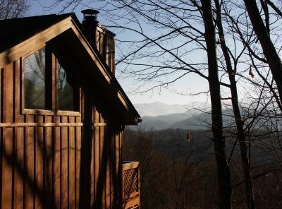 A cabin in Gatlinburg, Tennessee.