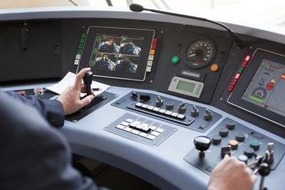 train driver dashboard