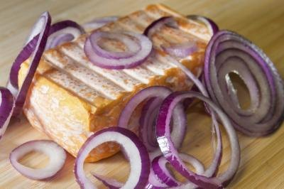 limburger cheese and onions