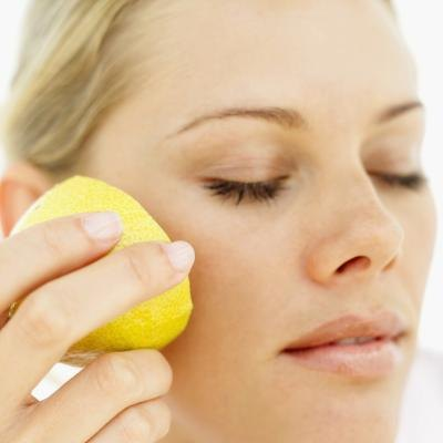 Rubbing lemons directly onto the face may reduce the appearance of black spots.