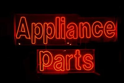 Appliance repair shop.